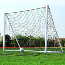 White Football Soccer Goal Net for Outdoor Sport Training Practice