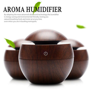 Mini Wooden Aromatherapy Humidifier Aroma Diffuser Air Purifier - Deals Blast