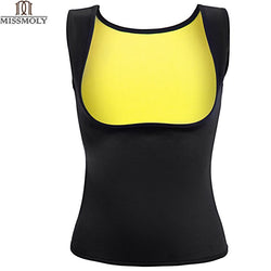Hot Shapers Sauna Sweat Neoprene Body Shaper Women Slimming Thermo Push Up Vest Waist Trainer Cincher Corset - DealsBlast.com