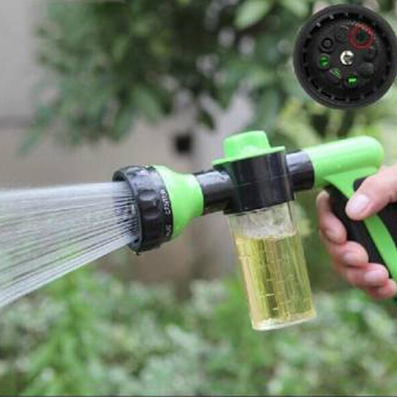 Multifunctional Foam Water Gun Garden Watering Tools High Pressure Washer For Car Motorcycle plant Sprayer - DealsBlast.com