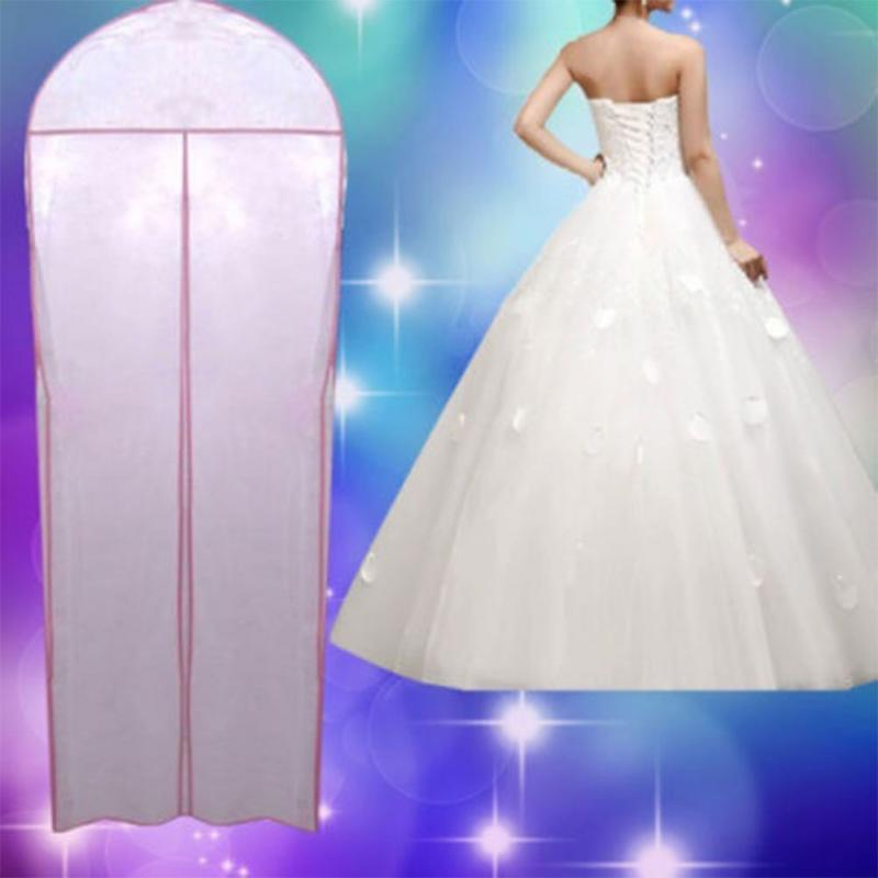 Breathable Wedding Prom Dress Gown Garment Dustproof Bag Clothes Cover - DealsBlast.com