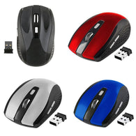 New 2.4GHz Wireless Optical Mouse/Mice With USB 2.0 Receiver for PC Laptop - DealsBlast.com
