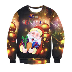 Men and Women 3d Sweatshirts and Hoodies Christmas Clothing Gift - Deals Blast