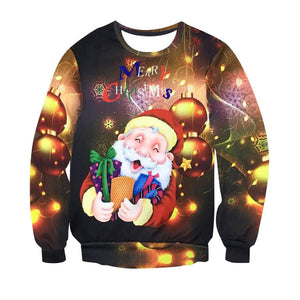 Men and Women 3d Sweatshirts and Hoodies Christmas Clothing Gift - DealsBlast.com