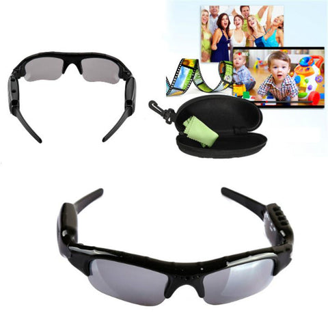 New Arrival Exclusive Digital Audio Video mini Camera DV DVR Sunglasses camo Sport Camcorder Recorder For Driving Outdoor Spied