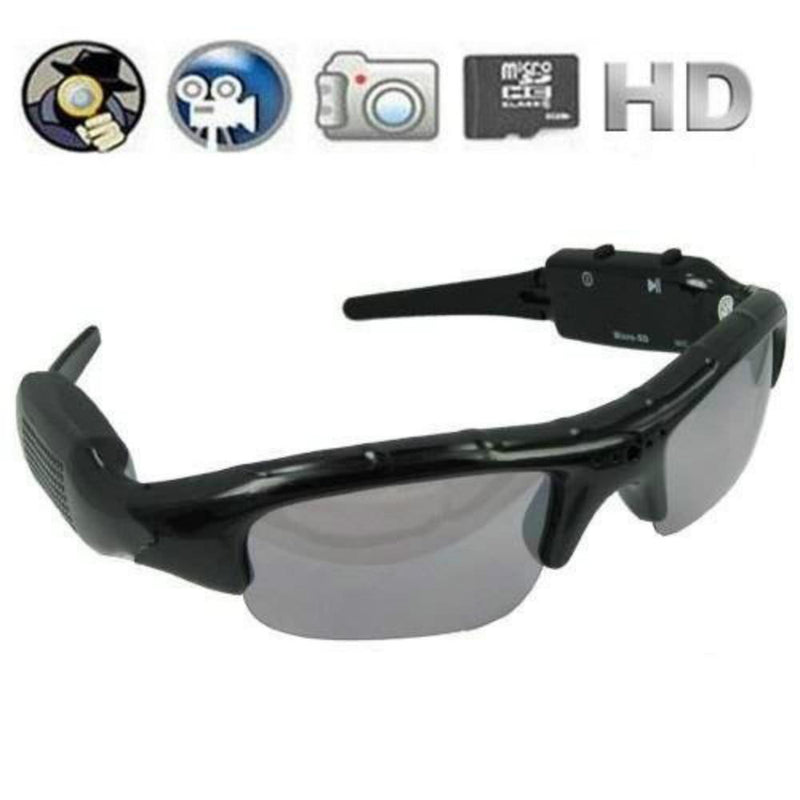 Digital Audio Video mini Camera DVR Sunglasses Sport Camcorder Recorder Cam For Driving Outdoor - DealsBlast.com