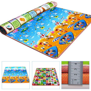 New Double Side Baby Play Mat Eva Foam Developing Mat for Children Carpet Kids Toys Gym Game Rug Crawling Gym Playmat Gift - Deals Blast