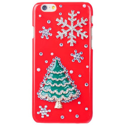 3D Bling Christmas Case Diamond Back Cover For iPhone 5C - Deals Blast