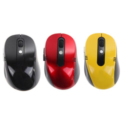 New Portable Optical Wireless Computer Mouse USB Receiver RF 2.4G For Desktop & Laptop PC Computer Peripherals High Quality - DealsBlast.com