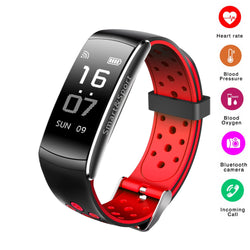 New Z11 Smartband Sport Smart Bracelet  IP68 Waterproof Watch Blood Pressure Oxygen Heart Rate Monitor Fitness Tracker Wristband - DealsBlast.com