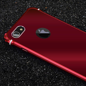 Luxury Metal Aluminum Hard Cases Bumper Cover For iPhone 6 6s 6S Plus 7 Plus - DealsBlast.com