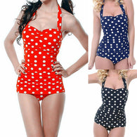 One Piece Halter Swimwear Women Monokini - DealsBlast.com