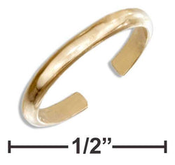 12 Karat Gold Filled 1.5mm Plain Band Ear Cuff - DealsBlast.com