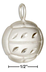 Sterling Silver Volleyball Pendant - DealsBlast.com