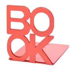 Red Book Art Bookend Bookcase - DealsBlast.com