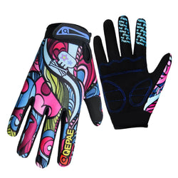 Winter Men Women Cycling Gloves Full Finger