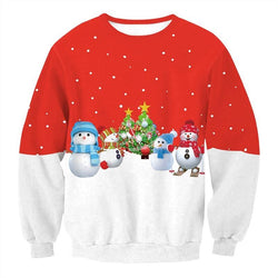 3D Sweatshirt Men Women Novelty Christmas Clothing Tops Pullovers - DealsBlast.com