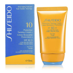 Protective Tanning Cream N SPF 10 (For Face) - 50ml-1.7oz