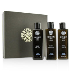 Shower Gift Set: Gentle Body Wash 250ml + Daily Shampoo 250ml + Protein Conditioner 250ml - 3pcs