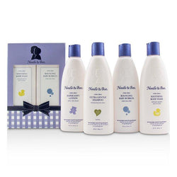 Family Fun Pack: Extra Gentle Shampoo + Super Soft Lotion + Smoothing Body Wash + Bouncing Baby Bubbles - 4pcs