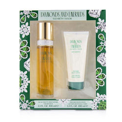 Diamond & Emerald Coffret: Eau De Toilette Spray 100ml-3.3oz + Perfumed Body Lotion 100ml-3.3oz - 2pcs
