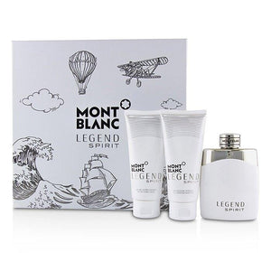 Legend Spirit Coffret: Eau De Toilette Spray 100ml-3.3oz + After-Shave Balm 100ml-3.3oz + All-Over Shower Gel 100ml-3.3oz - 3pcs