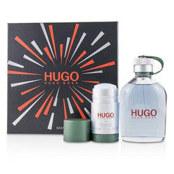 Hugo Coffret: Eau De Toilette Spray 200ml-6.7oz + Deodorant  Stick 75ml-2.4oz - 2pcs