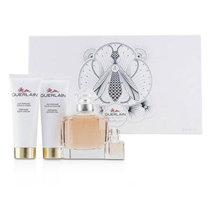 Mon Guerlain Coffret: Eau De Toilette Spray 100ml-3.3oz + Perfumed Body Lotion 75ml-2.5oz + Perfumed Shower Gel 75ml-2.5oz + Eau De Toilette