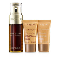 Double Serum Extra-Edition Set: Double Serum 50ml + Extra-Firming Day Cream 15ml + Extra-Firming Night Cream 15ml - 3pcs