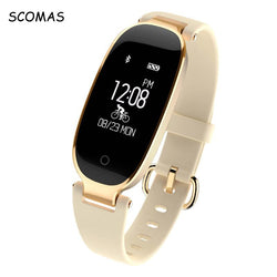S3 Bluetooth Waterproof Smart Watch Fashion Women Ladies Heart Rate Monitor Fitness Tracker Smartwatch for Android IOS - DealsBlast.com