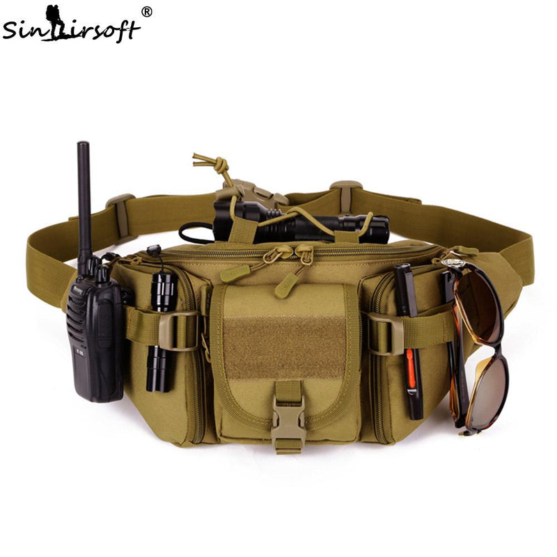 Tactical  Waterproof Waist Fanny Pack Hiking Bag Belt - DealsBlast.com