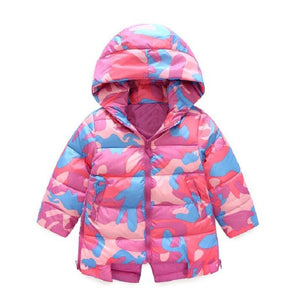 3-10 years Camouflage Winter Jacket
