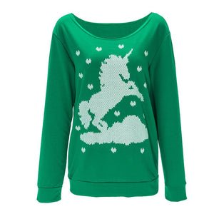 Long Sleeve Women Hoodies Sweatshirt Christmas Outfits - DealsBlast.com
