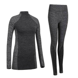 Women Thermal Underwear Spring Autumn Winter Quick Dry Thermo Sporting Underwear Sets Female Fitness Gymming Long Johns - DealsBlast.com