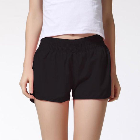 Women Shorts Elastic Waist Lady Soft Cotton Shorts Causal Shorts Candy Color Summer Short Pants