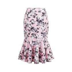 Summer Skirt Style Cotton Skirts Girls Knee-Length Skirts Women Standard  Skirt - DealsBlast.com