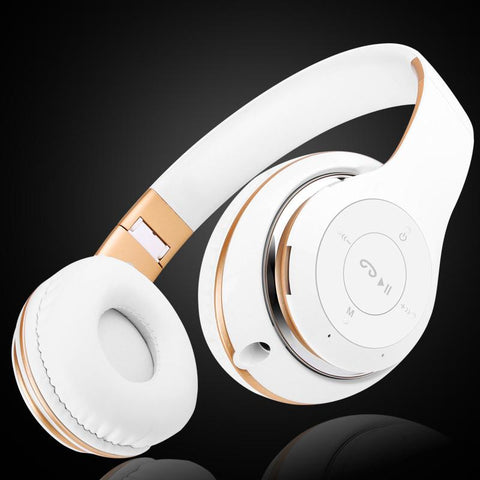 BT-09 Bluetooth Headphone Wireless With MIC Support TF Card FM For Computer iPhone