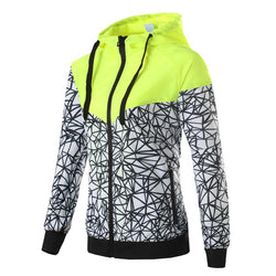 Spring Autumn Women Jacket hooded Thin Wind breaker Zipper - DealsBlast.com