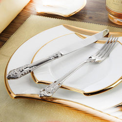 Stainless Steel Cutlery Set Dinner Set - Deals Blast
