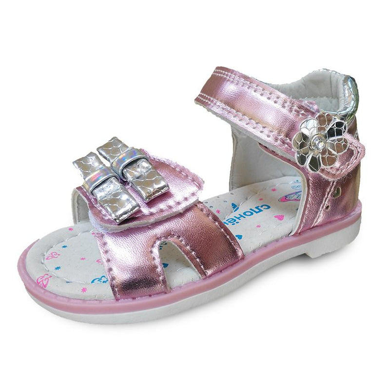 Super New arrival 1 pair PU leather Girl Children Sandals