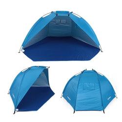 Outdoor Beach Tents Ultralight Camping Tent Single Layer Tent Sun Shelters Shade Fishing Tent for Picnic Hiking With Bag - DealsBlast.com