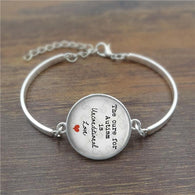 The cure for unconditional Love Glass  High Quality Bracelet Phrase - DealsBlast.com