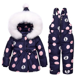 Children's Down Jacket Winter Warm  Snow Suit  Girls - DealsBlast.com