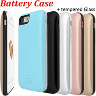 7Plus Battery Backup External Charger Case for IPhone 7 Plus Battery Case Silicon /3700mAh is ultra-thin case/7500mAh thick - DealsBlast.com