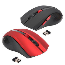 USB Wireless Mouse 6 Buttons 2.4G Optical Mouse Adjustable 2400DPI Wireless Gaming Mouse Gamer Mouse PC Mice for Computer Laptop - DealsBlast.com