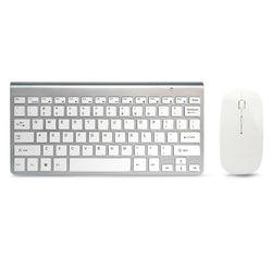 Ultra Compact Wireless Keyboard and Mouse Combo Set 2.4G Wireless Keyboard Moues Combo for Apple Mac Windows XP/7/10 IOS
