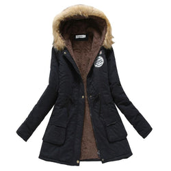 Women Solid Color Coat Jacket Outwear