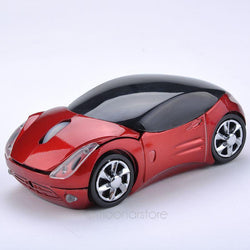 Wireless mouse cool fashion super car shaped mouse USB 2.4Ghz optical mouse mice for pc laptop computer high-quality - DealsBlast.com