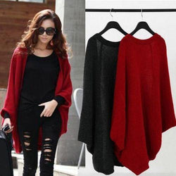 Women Long Sleeve Knitwear Jumper Cardigan Coat Jacket - DealsBlast.com