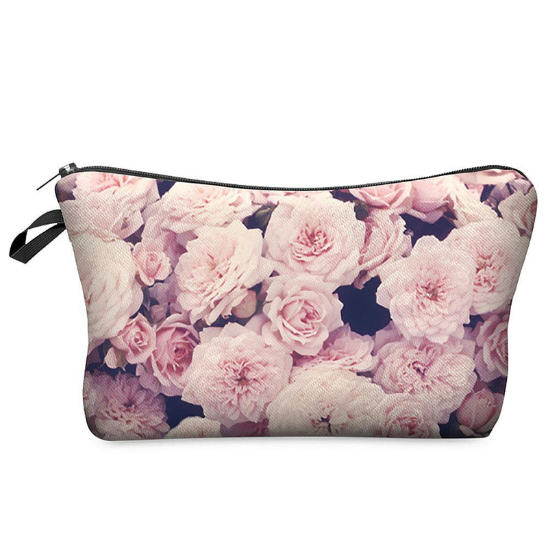 3D Printing Large Cosmetic Bag Fashion Women Brand - DealsBlast.com